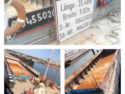 Barge Justus for rent or for sale